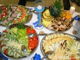 Wedding Reception Buffet Menu Ideas by Small Party Reception Buffet Table Displays Wedding Reception