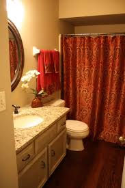 red black gold shower curtain home decoration ideas