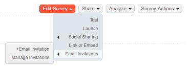 email invitations how to your survey via email checkbox survey developer center