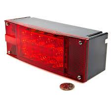led trailer tail lights rectangular 8 led truck and trailer lights kit 8 brake turn tail