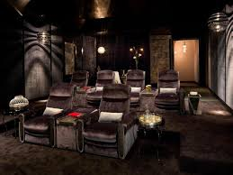 the impressive home movie theater decor collection of home