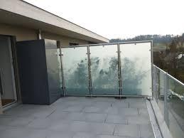 balkon sichtschutz aus glas sichtschutz balkon panther glas ag