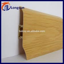 Laminate Flooring Strips Laminate Flooring Trim Transition Strips Pvc Skirting Board Buy
