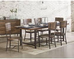 framework dining table magnolia home