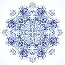 snowflake mandala ornament vector thinkstock