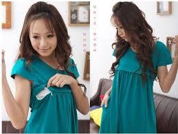short sleeve cotton anti bacterial anti static lactating women