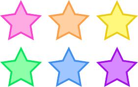 star clip art outline free clipart images 2 clipartix