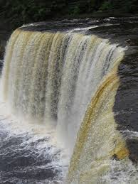 North Dakota waterfalls images Northern michigan drive brings waterfalls bears ship wrecks and jpg