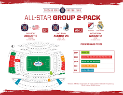 Mls Teams Map Tickets 2017 Mls All Stars Vs Real Madrid At Soldier Field