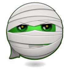 Mondspeer Deviantart - halloween smileys the mummy by mondspeer on deviantart