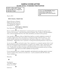 correct cover letter gallery cover letter sample