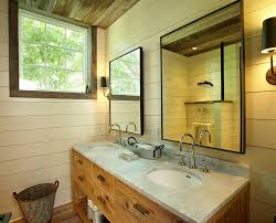 industrial looking bathroom mirrors home