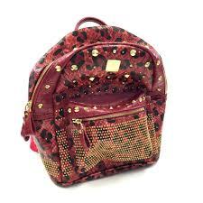 mcm designer mcm mì nchen p4275 backpack bag large designer bag reusenation