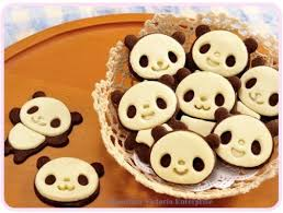 cuisine kawaii kawaii panda cookie bake shape mold chocolate shape mold shaper