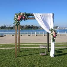 wedding arches san diego wood pergola arch rental san diego