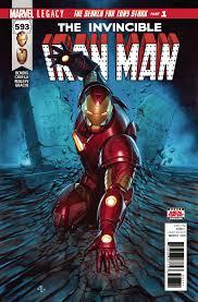 Iron Man Aug170792 Invincible Iron Man 593 Leg Previews World