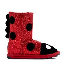 ugg boots australia emu ladybird sparkle deluxe wool boot emu australia