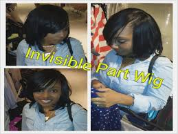 utube bump hair in a bob quick weave bob hairstyles with invisible part archives
