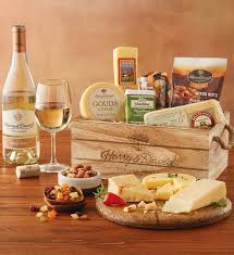 wine and cheese gift baskets gourmet cheese gift with wine wine gifts harry david