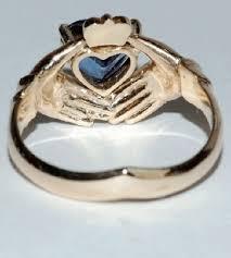 symbolic rings symbolic claddagh ring kaleidoscope effect
