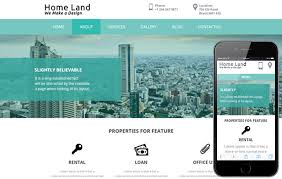 free bootstrap templates for government home land a real estate category flat bootstrap responsive web