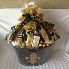new orleans gift baskets saints gift images