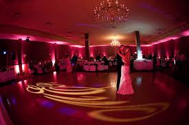 uplighting for weddings wedding reception uplighting and monograms