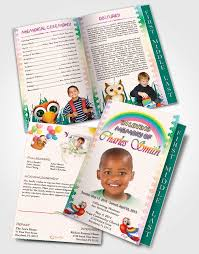baby funeral program child funeral program template how write benefit fundraiser