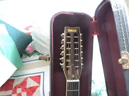 mint condition vintage yamaha 12 string talk of the villages