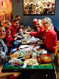 team nebraska teamnebsoftball team nebraska on after dinner pudgyd desserttime