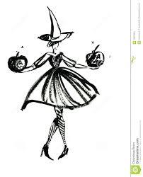 halloween witch stock illustration image 59972281