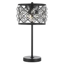 spencer table lamp crystal spheres iron 3 light table lamp free