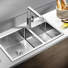 Stainless Steel Rotatable Square Shaped Kitchen Faucets - Square sinks kitchen