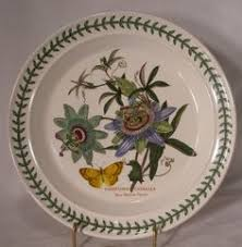 portmeirion botanic garden oval plate narcissus china