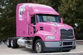 model semi trucks mack displays pink truck overdrive owner operators trucking