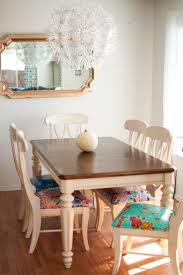 kitchen table adorable painted kitchen table oak and painted