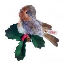 steiff robin ornament ean 037993