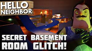 secret basement rooms flying through walls hello neighbor