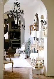 deck the halls christmas home tour elegant entryway