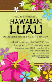 free printable luau invitation templates tropical luau