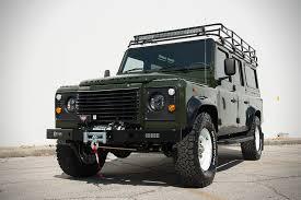 land rover defender off road land rover defender u0027project pedigree u0027 hiconsumption