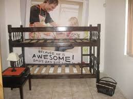 Double Bunk Bed Sleeping Couches Single Beds Upholsterer - Double bunk beds