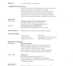 Sample Resume For College Student Looking For Summer Job Resume Sample College Student Sample Word College Student Resume