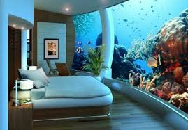dans la chambre d hotel le design d une chambre d hôtel de luxe sous marine incroyable et