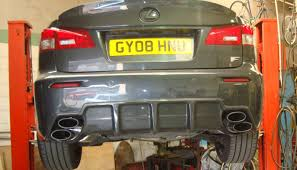 lexus isf exhaust lexus isf cat back system with x pipe hayward and scott