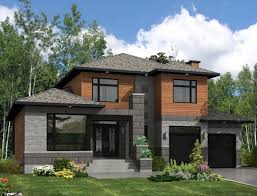 Modern Style House Modern Style House Plan 3 Beds 2 50 Baths 2410 Sq Ft Plan 138 357