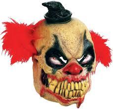 rob zombie halloween clown mask bludie clown mask 122340 halloween mask