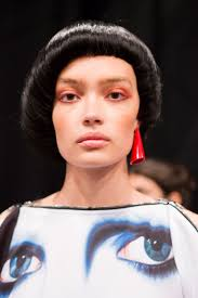 hair cut 2015 spring fashion every makeup look you need to see from nyfw jeremy scott makeup