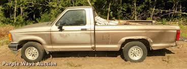 Yellow Ford Ranger Truck - 1992 ford ranger xlt pickup truck item da3016 sold july