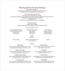 wine menu template cream floral wedding bar menu bar menu